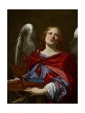 Angels with Attributes of the Passion: Angel Holding the Vessel and Towel for Washing the Hands of
