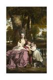 Lady Elizabeth Delme and Her Children  1777-79