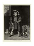 Master Crewe as Henry VIII