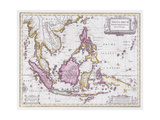 Map of China and Indonesia  C1710