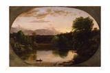 Sunset  View on Catskill Creek  1833