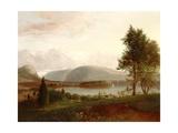 Denning's Point  Hudson River  C1839