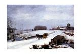 Sleigh in Winter  1832