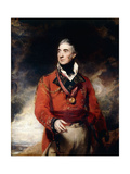 Portrait of Lieutenant-General Sir Thomas Graham  KB  Later 1st Baron Lynedoch (1748-1843)