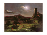 Landscape (Moonlight)  C1833-34