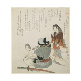 (Woman Looking at the Man with Mirror and Sword)  C 1816-1819