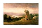 The Tyne from Windmill Hills  Gateshead  C1818
