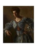 Portrait of Elizabeth L Burton  C1905-06