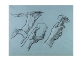 Trois Etudes De Mains (Three Studies of Hands)  C 1876
