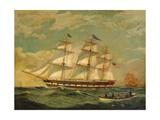 Ship Houqua  1841