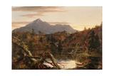 Autumn Twilight  View of Corway Peak  1834