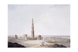 The Qutb Minar  Delhi  C 1789
