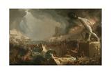 The Course of Empire: Destruction, 1836 Giclée par Thomas Cole