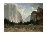 Bridal Veil Falls  Yosemite  C1870-84