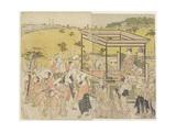 The Sanno Festival Procession  1788