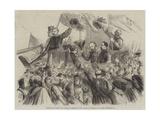Garibaldi's Entry into Naples  a Sketch in the Strada Di Toledo