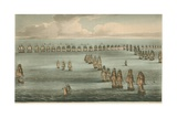 Commencement of the Battle of Trafalgar  1805