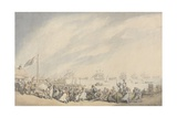 The Return of the Fleet to Great Yarmouth after the Defeat of the Dutch in 1797  C1797