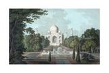 View of Taj Mahal  1801