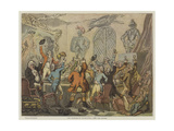 The Humours of Fox-Hunting  1788  the Dinner