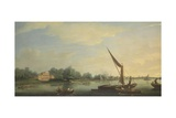 The Thames at Chelsea  1784
