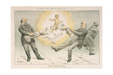 The New Year  from 'St Stephen's Review Presentation Cartoon'  31 December 1887