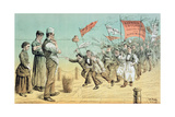 The German Invasion  from 'St Stephen's Review Presentation Cartoon'  2 October 1886