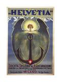 Helvetia Poster by Umberto Boccioni  1909