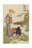 Women by an Iris Pond  1785