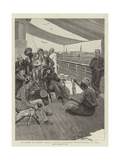 On Board an Orient Liner  a Native Conjuror's Entertainment at Suez