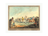 The High-Mettled Racer  1789  Hand-Colored Etching  Rosenwald Collection