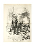 A General Blow Up - Dead Asses Kicking a Live Lion  1874