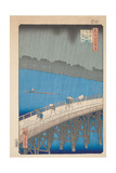 Shower over Ohashi Bridge  1857