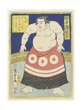 Wrestler Tagonoura Tsurukichi  March 1866