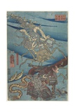 Battle at the Bottom of the Sea Off Daimotsu Beach  1847-1852