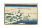 New Year's Day Sunrise at Susaki in Snow  C 1831