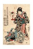 Rokudaime Iwai Hanshiro Shichikaiki Tsuizen (Shigenoi Ko Wakare)