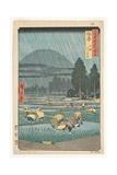Hoki Province  Ono  Distant View of Mount Daisen  1853