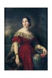 Mrs Aaron Vail (Emilie Salles) 1842