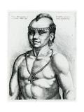 Virginian Indian  1645