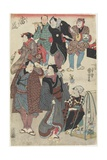 Fashionable Crowd of the New Year's Day  1847-1852