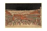 Ukie Wakoku No Keiseki Shin-Yoshiwara Nakanocho No Zu