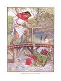 Robin Hood and Little John  C1920