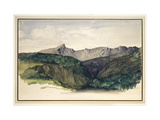 Study of a Distant Range of Mountains  1860