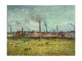 Factories at Clichy  1887