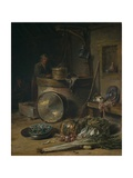 Peasant Interior with Woman at a Well  C1642–43