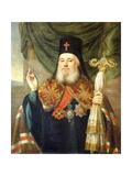 Portrait of Platon  Metropolitan of Moscow and Kolomna