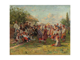 Festival in a Ukrainian Village  C 1882-1917