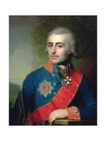 Portrait of General Aide-De-Camp Count Pyotr Tolstoy (1761-1844) 1799