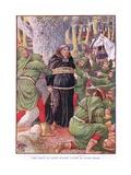 The Abbot of Saint Marie's Taken by Robin Hood  C1920
